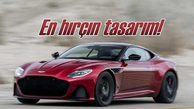 Aston Martin en hırçın tasarım