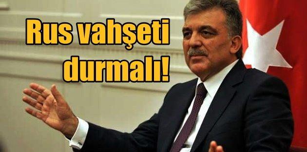 11. Cumhurbaşkanı Abdullah Gül, İdlip için İHHyı aradı