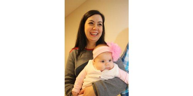 15 yıllık evli çift, 2008 yılında dondurulan embriyonun 2014 yılında transferiyle evlat sahibi oldu
