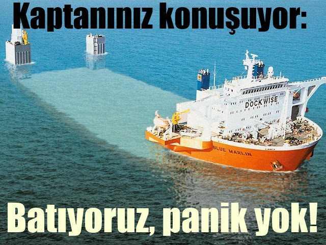Gemisini batıran kaptanlar, Bu gemiler yük almak için batıyor...
