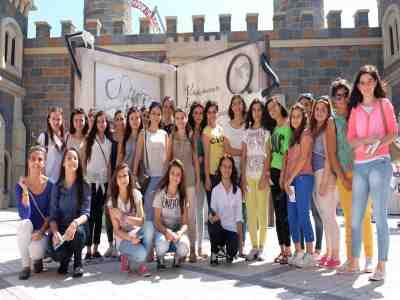 Mercedes'in yıldız kızları İstanbul'da