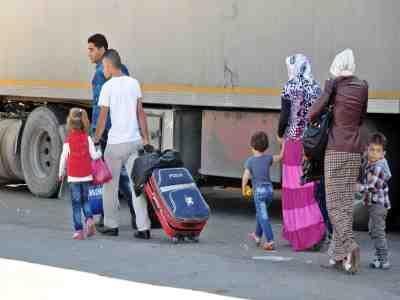 Ve Suriyeliler gidiyor!