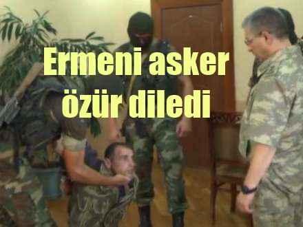 Ermeni askeri Mehmetçik karşısında diz çöktü