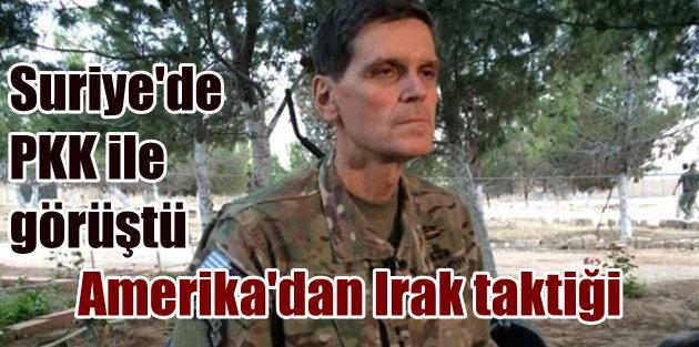 Amerikalı komutan Suriye#039;de teröristlerle görüştü
