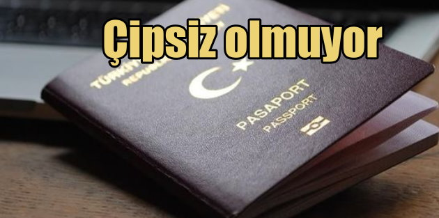Avrupa'ya vizesiz seyahat için çipli pasaport şart