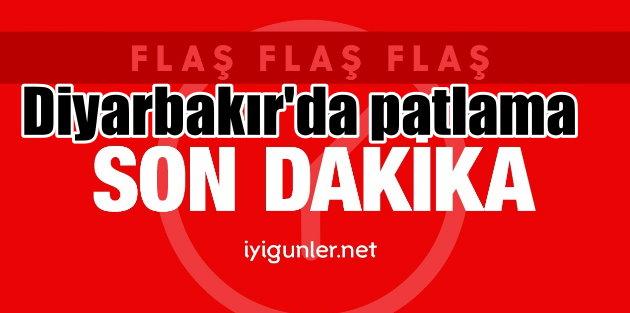 Diyarbakır'da büyük patlama: Bölgeye ambulanslar gönderildi