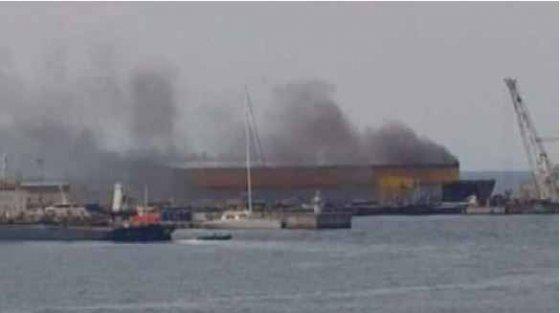 Tuzla'da korkutan patlama; Yangın çıktı