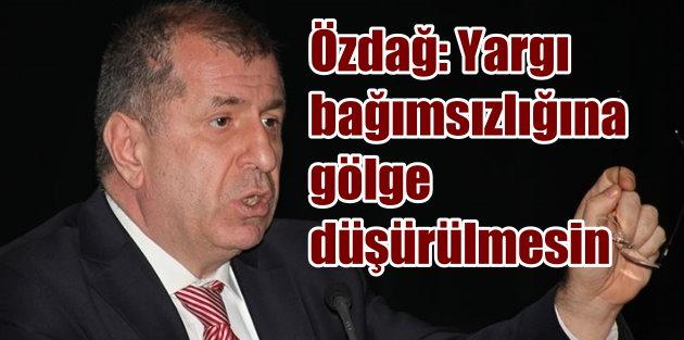 Yargıtay Başkanı Ciritçi#039;nin Rize gezisine Özdağ#039;dan tepki