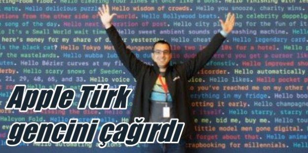 Apple ilk kez bir Türk öğrenciyi 'Yazılım' için çağırdı