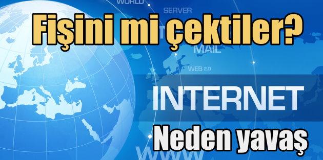 İnternet neden yavaş; İnternet yavaşlayınca vatandaş çıldırdı