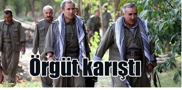 PKK'lı teröristler birbirine düştü
