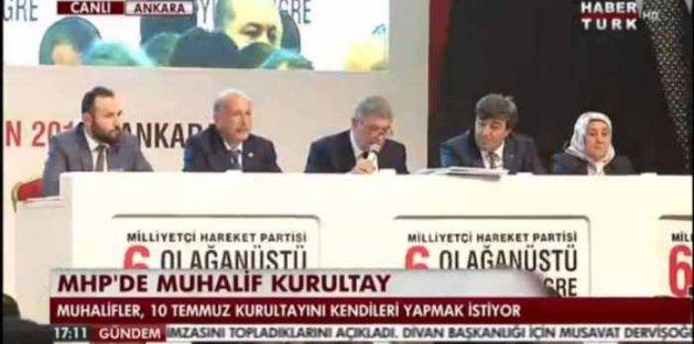 Son dakika Haberleri; MHP Genel Merkezi, Kurultay'da hatalar var