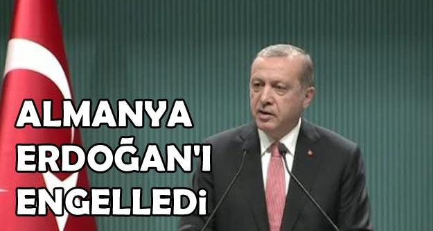 Almanya'dan Erdoğan'a telekonferans engeli