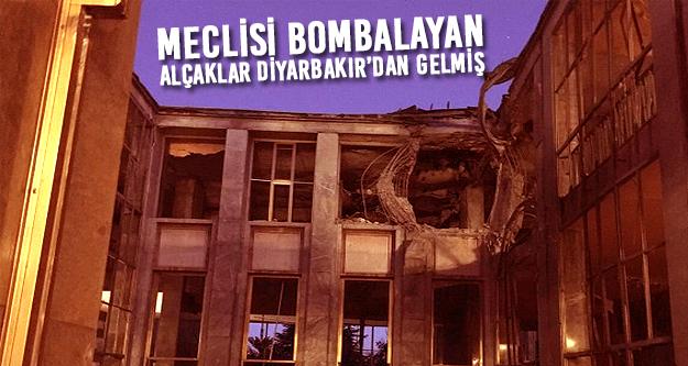 Ankara'yı vuran uçaklar Diyarbakır'dan gelmiş