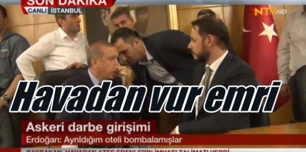 Askeri Darbe son durum, Erdoğan'ın Marmaris'te kaldığı oteli bombaladılar