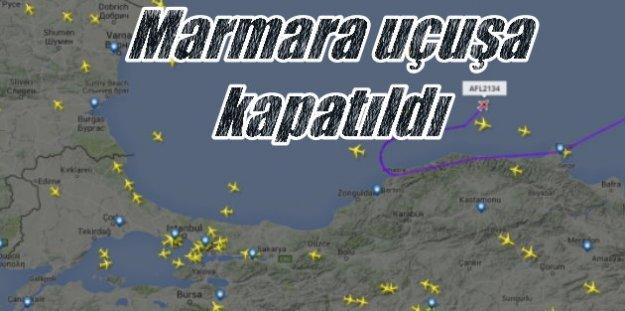 Askeri Darbe son durum, Marmara Bölgesi uçuşlara kapatıldı