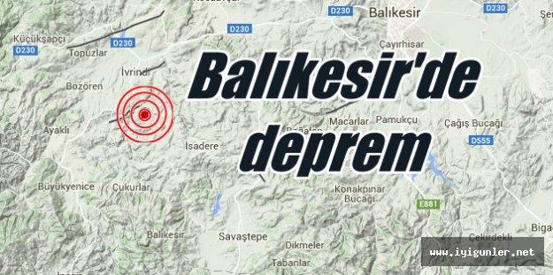 Balıkesir'de deprem, İvrindi'de deprem 3.1