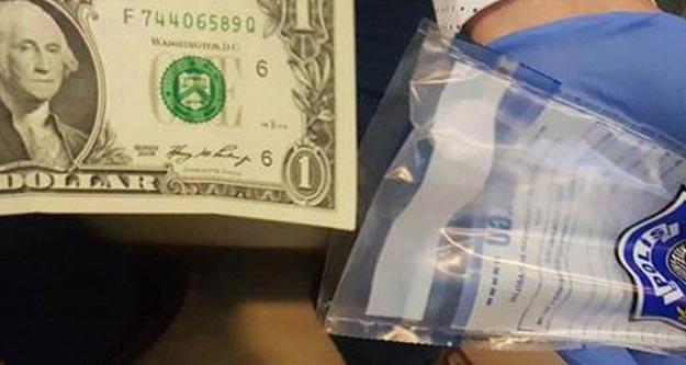 Darbecilerin üzerinden çıkan '1 dolar'ın sırrı