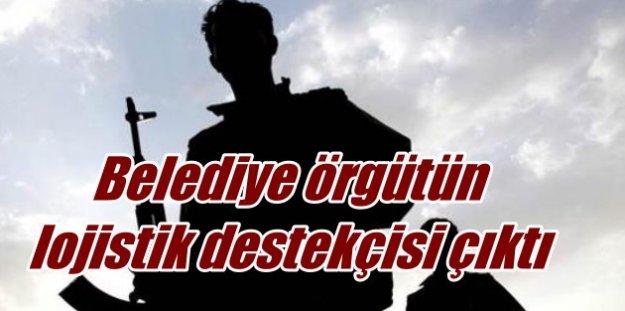 Diyadin Belediyesi, PKK'nın lojistik tedarikçisi çıktı