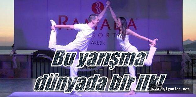 Dünyanın ilk Yoğa Koreografi Şampiyonası Didim'de düzenlendi