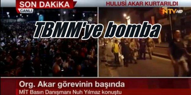 Flaş Flaş Flaş; Askeri darbe girişimi, Ankara'da ve İstanbul'da patlama sesleri