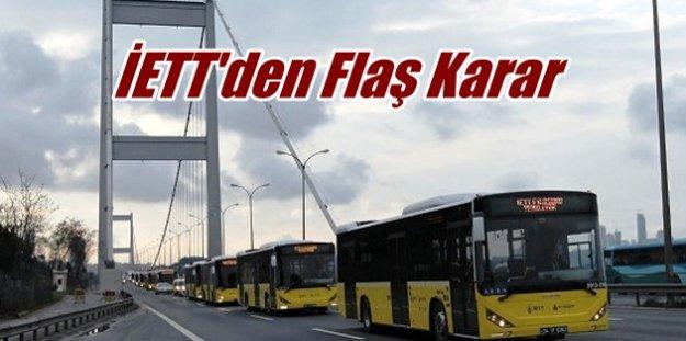 Flaş, Flaş, Flaş, İstanbul'da ulaşım ücretsiz: İBB'den şok karar