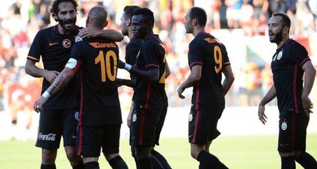 Galatasaray'da kadro dışı bırakılan 4 oyuncu