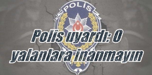 İstanbul Polisi'nden vatandaşlara önemli uyarı