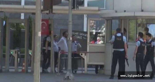 İstanbul Sütlüce'de polise silahlı saldırı...