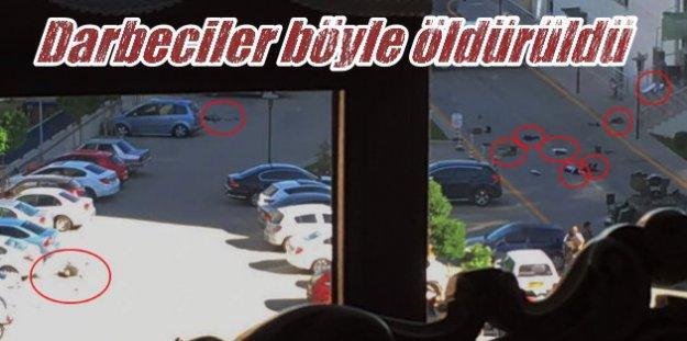Jandarma Komutanlık binasında çatışmanın görüntüleri