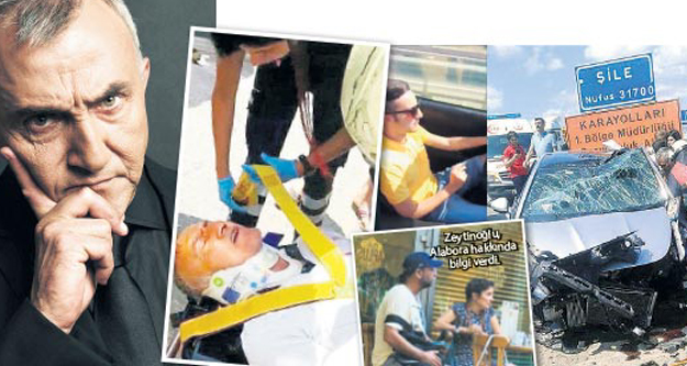 Kaza yapan Mustafa Alabora'nın durumu nasıl?