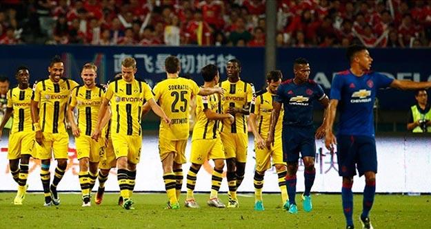 Manchester United Borussia Dortmund maçı kaç kaç bitti geniş özeti ve golleri