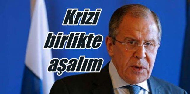 Moskova'dan Ankara'ya 'Suriye' mesajı: Krizi birlikte aşalım