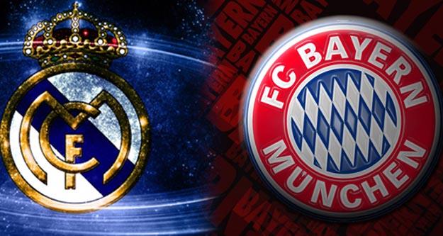Real Madrid Bayern Münih maçı ne zaman saat kaçta hangi kanal canlı yayınlıyor?