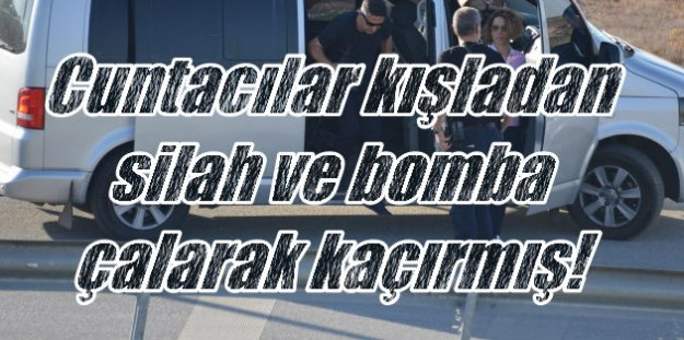Son Dakika askeri darbe; Cuntacılar Beykoz'da silah ve bomba gömmüşler