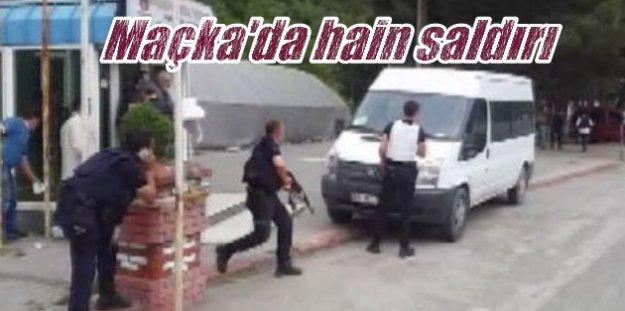 Son Dakika Maçka: Teröristler polise saldırdı, 3 şehit var