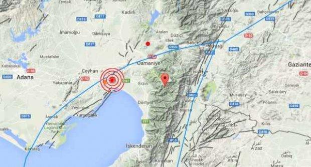 Son depremler, Adana'da deprem; Ceyhan 3.9 ile sallandı