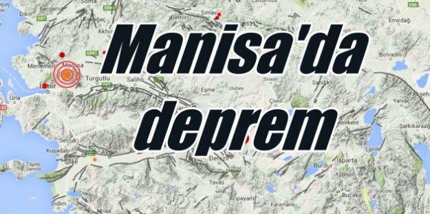 Son Depremler, Manisa'da deprem: Manisa 3.9 ile sallandı