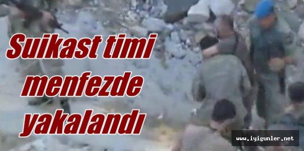 Suikast timi menfezde yakalandı: SAT komandoları için operasyon