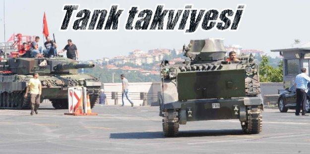 Tekirdağ'dan İstanbul'a 15 tank geliyor