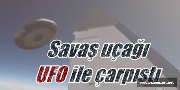 UFO'lar ilk kez bu kadar yaklaştı: Havada uçakla çarpıştı