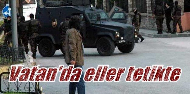 Vatan Caddesi'nde Son Durum, Emniyet Müdürlüğü'nde baskın önlemi