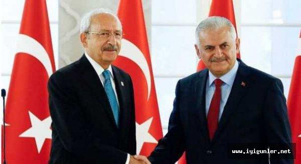 Başbakan Yıldırım, CHP lideri Kılıçdaroğlu ile görüşüyor