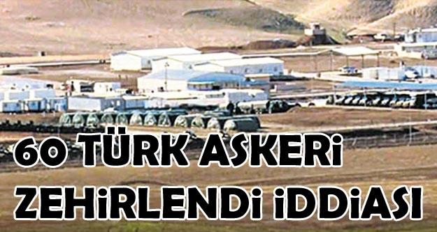 'Başika'daki 60 Türk askeri zehirlendi' iddiası
