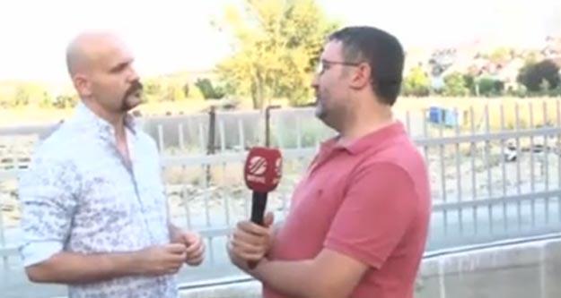Beyaz TV muhabiri Atalay Demirci'nin yüzüne tükürdü