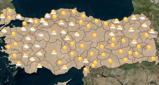 Bugün Ankara'da hava durumu nasıl olacak?