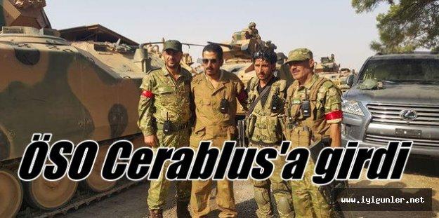 Cerablus'ta son durum; OSÖ vurdu, IŞİD kaçtı