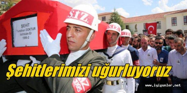 Hakkari şehitleri Ankara'dan uğurlandı