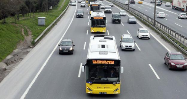 İstanbul'da pazar günü otobüsler ücretsiz