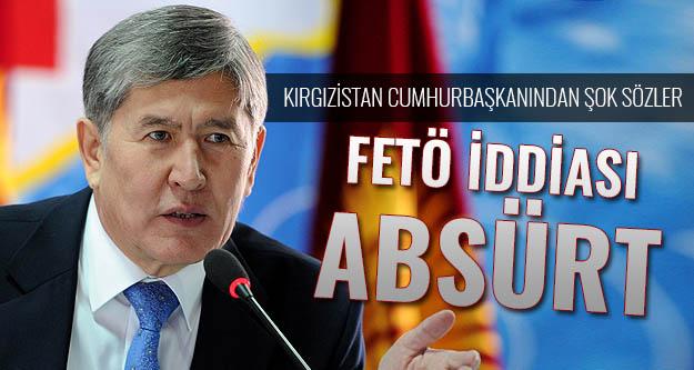 Kırgızistan'dan küstah Türkiye açıklaması